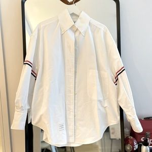 Thom Browne Oversized Oxford Shirt IT38